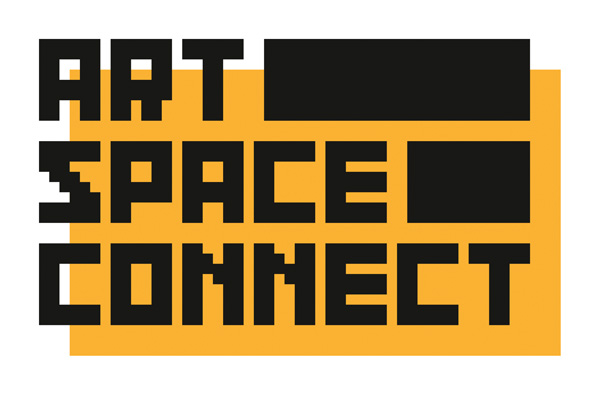 art space connect logo orange